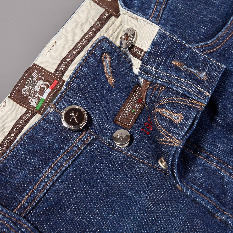 Tramarossa Denim Blue 6 Months Leonardo Comfort Jeans Zipper