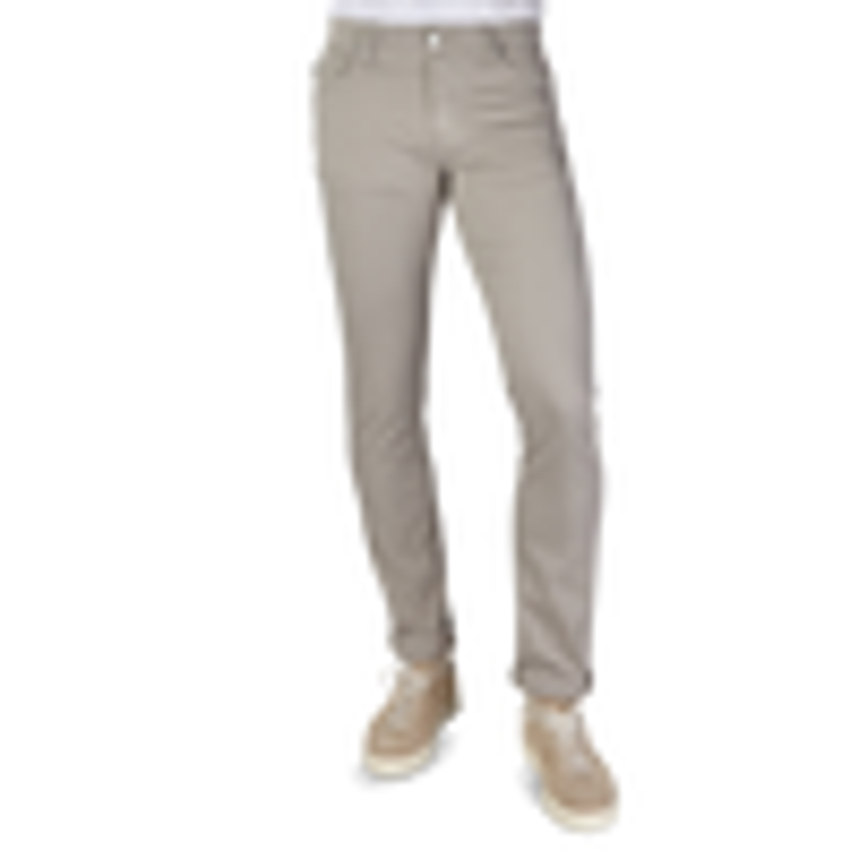 Tramarossa Sand Cotton Stretch Leonardo Jeans Front