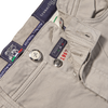 Tramarossa Sand Cotton Stretch Leonardo Jeans Zipper