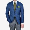 Eduard Dressler Light Blue Super 100s Wool Sean Blazer Front