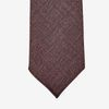 Dreaming of Monday Burgundy 7-Fold Wool Silk Tie Tip