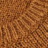 Altea Warm Brown Knitted Cotton Linen Sweater Fabric
