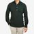 100Hands Green Wool Cotton Blackline Rubgy Shirt Front