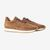 CQP Snuff Brown Suede Stride Retro Runner Feature