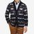 Altea Navy Navajo Wool Blend Shawl Collar Cardigan Front