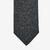 Amanda Christensen Grey Speckle Wool Silk Tie Tip