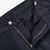Canali Washed Navy Cotton Twill Jeans Zipper