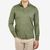 Fedeli Washed Green Organic Cotton Polo Shirt Front