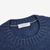 Gran Sasso Denim Blue Pure Cashmere Crew Neck Collar
