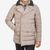 Herno Beige Nylon Down Padded DB Jacket Front