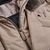 Herno Beige Nylon Down Padded DB Jacket Open
