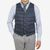 Herno Blue Goose Down Legend Gilet Front