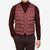 Herno Burgundy Light Goose Down Legend Gilet Front