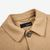 Lardini Camel Beige Wool Blend Shacket Collar