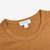 Sunspel Nutmeg Classic Cotton T-Shirt Collar