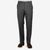 Canali Medium Grey Wool Trousers Front
