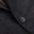 Canali Navy Unconstructed Wool Jacket Closed