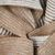 Johnstons of Elgin Beige Grey Woven Cashmere Scarf Fabric