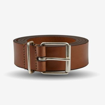 Anderson's Light Brown Calf Leather 30mm Belt Feature