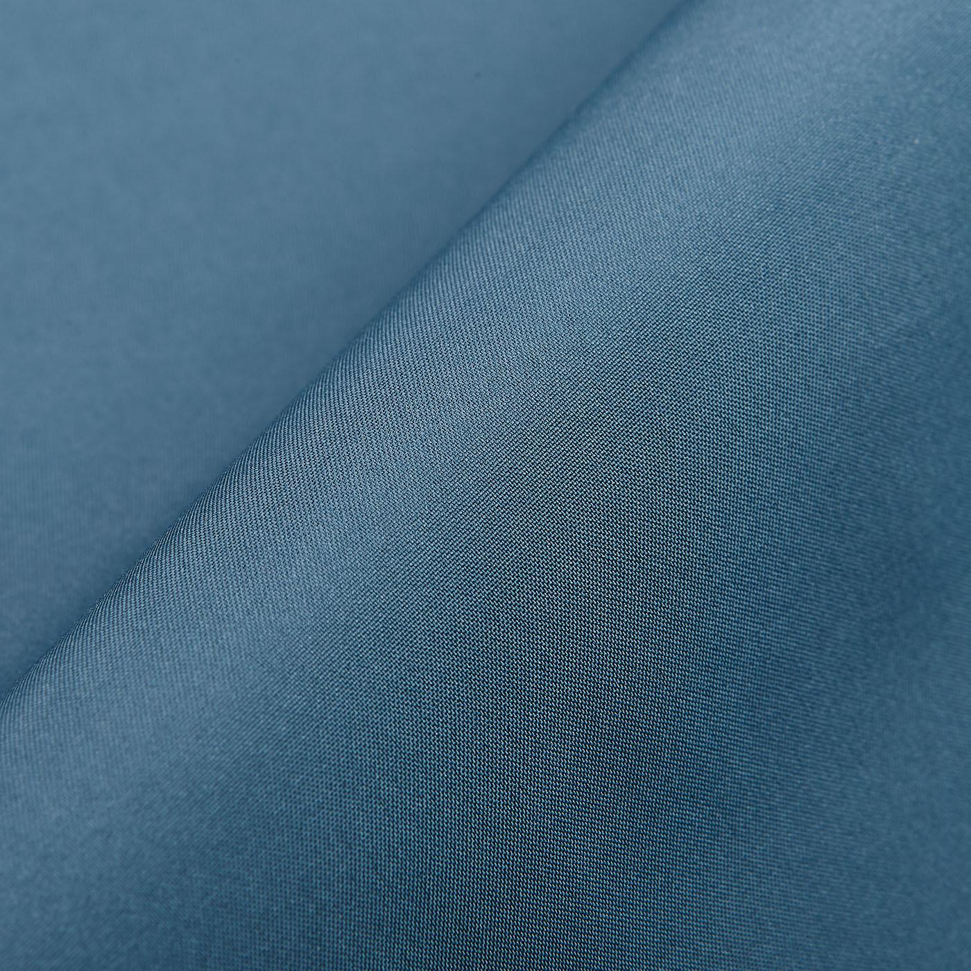 Herno Cold Blue Technical Nylon Laminar Parka Fabric