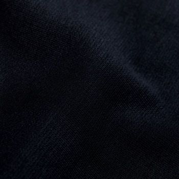 Canali Navy Cotton Jersey Unconstructed Blazer Fabric