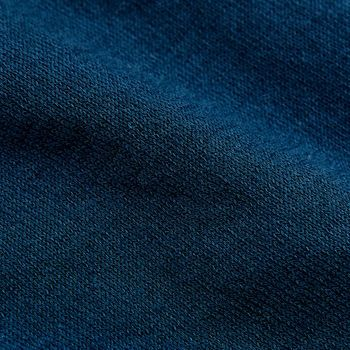 Gran Sasso Petrol Blue Fresh Cotton Polo Shirt Fabric