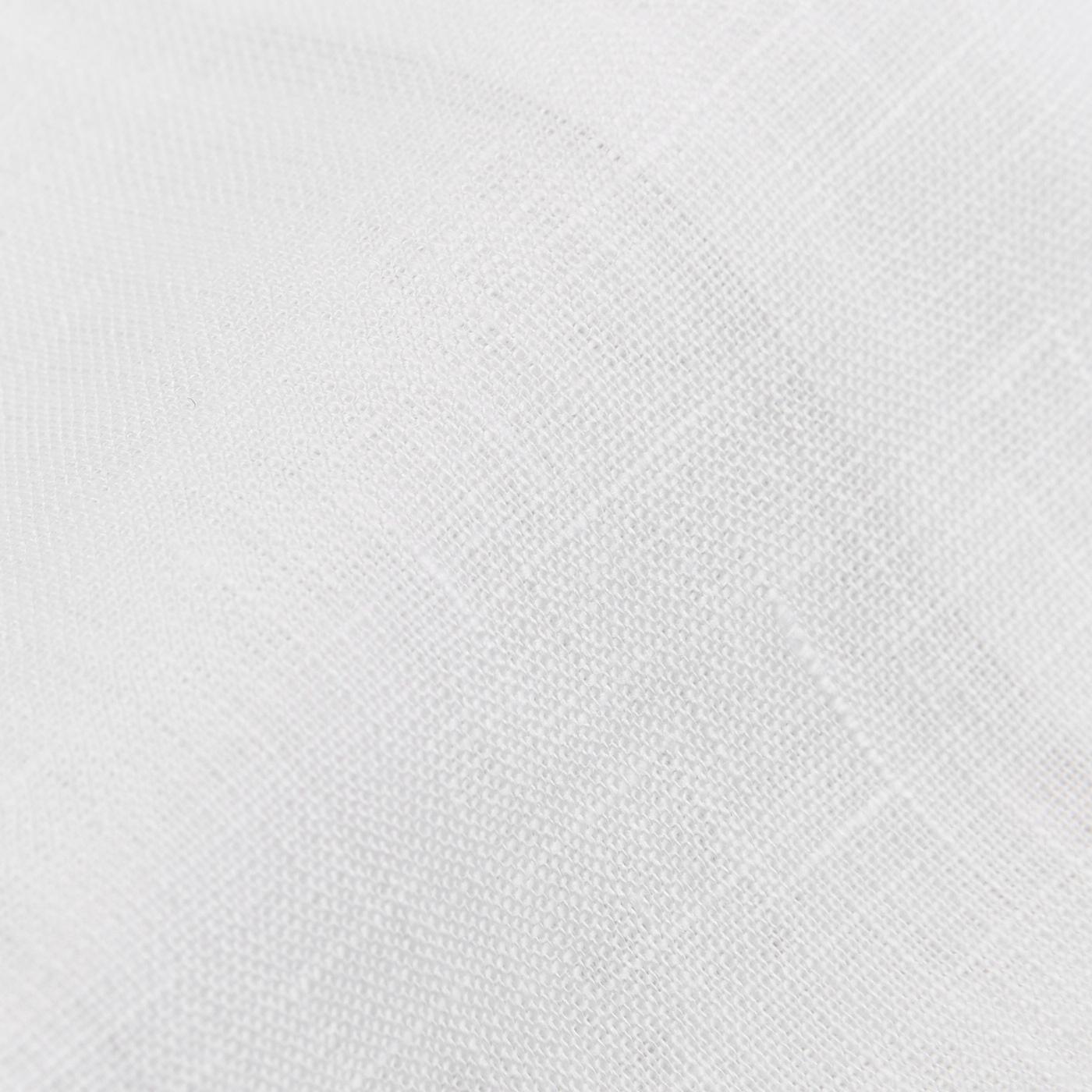 Stenströms White Linen Slimline 1899 Shirt Fabric