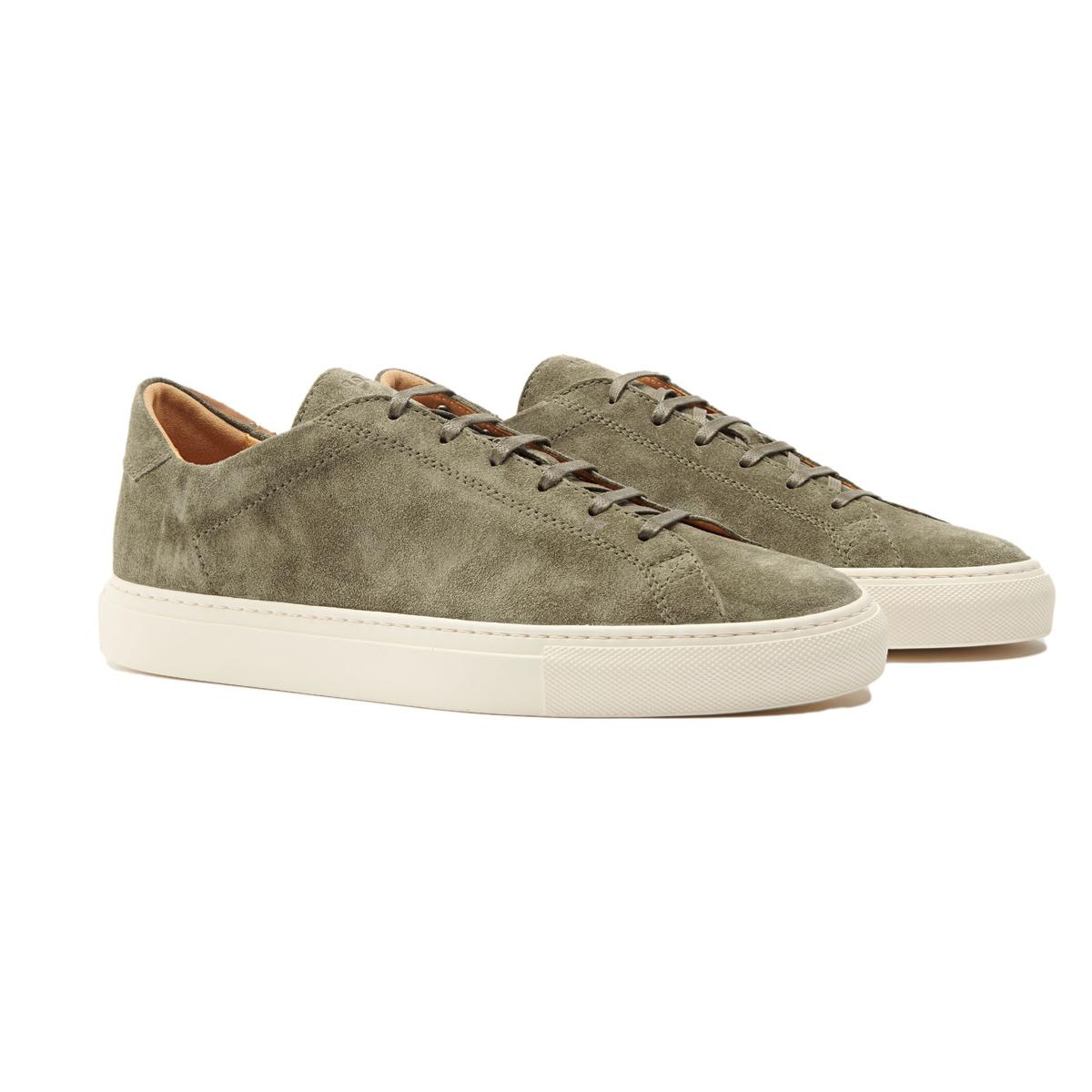 C.QP Gridiron Green Racquet Sr Sneakers