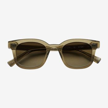 Chimi Eyewear Model 02 Green Gradient Lenses Sunglasses 47mm Feature