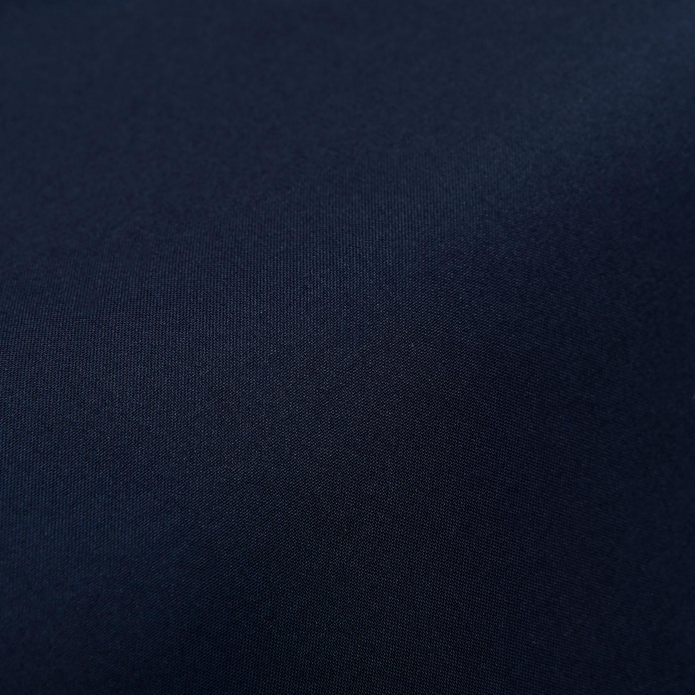 Fedeli Navy Madeira Microfiber Swim Shorts Fabric