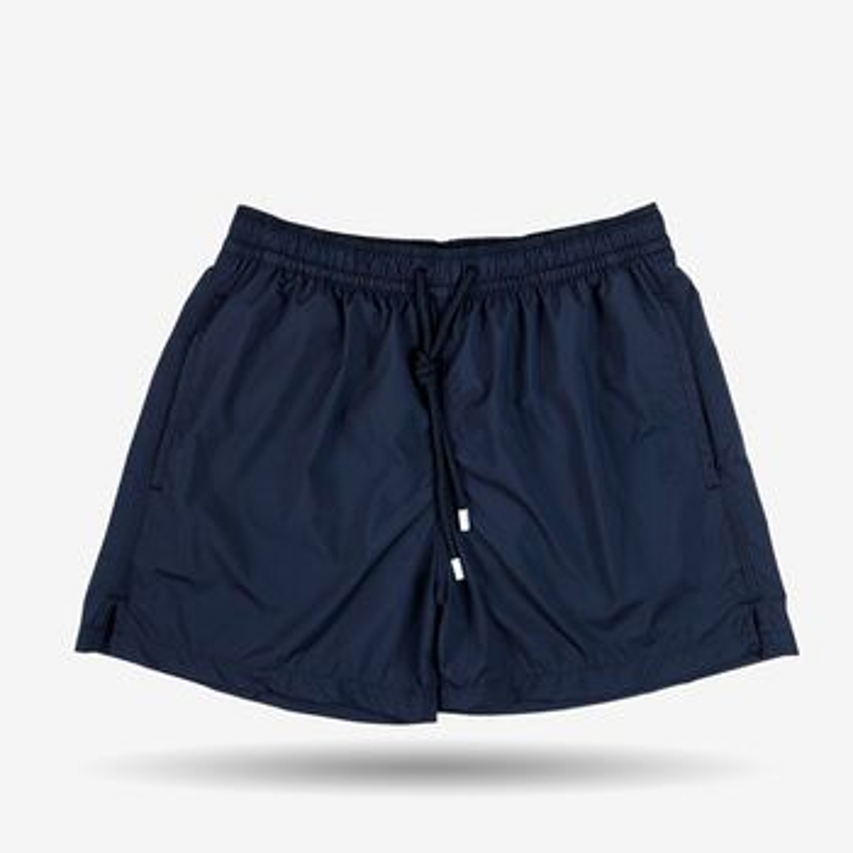 Fedeli Navy Madeira Microfiber Swim Shorts Front