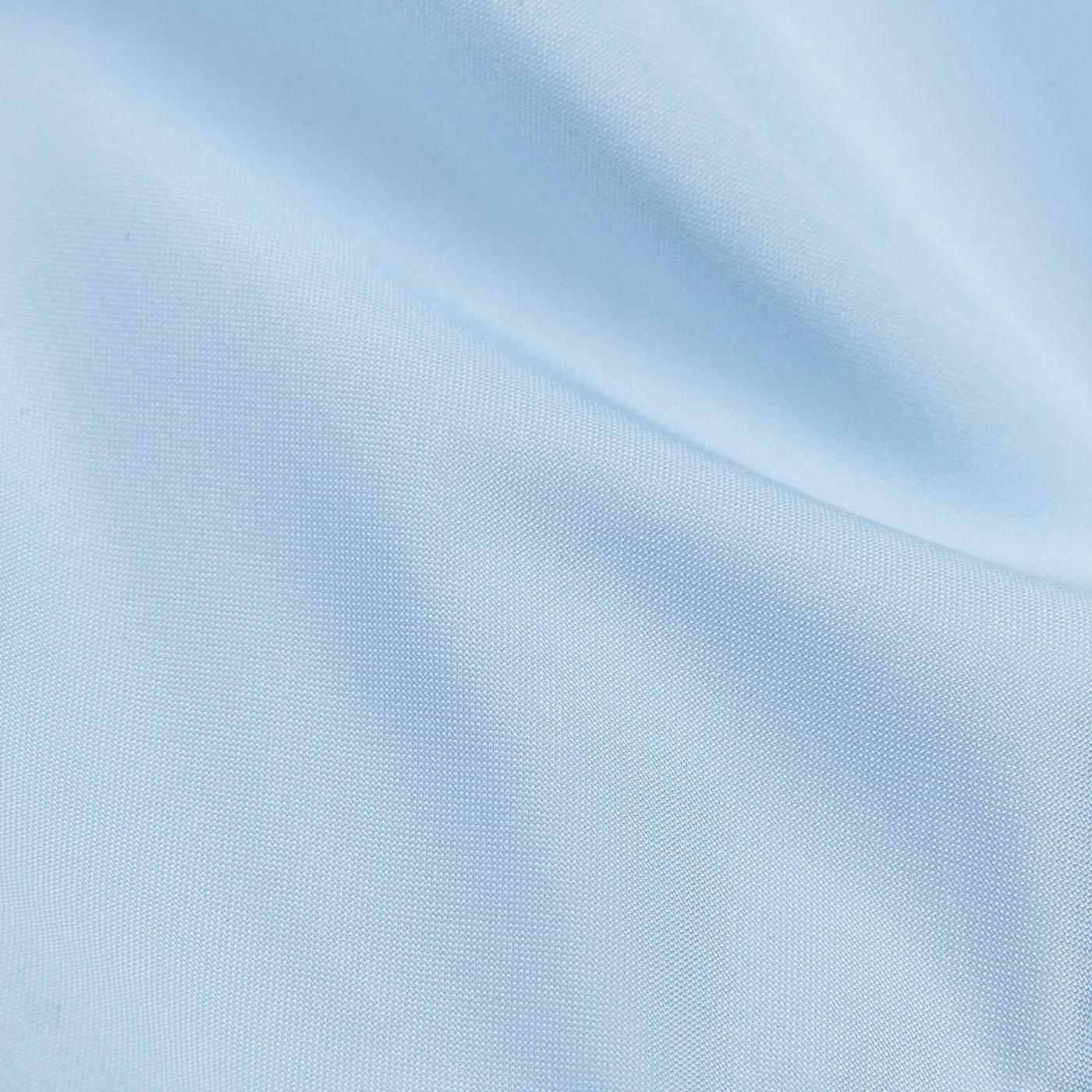Fedeli Sky Blue Madeira Microfiber Swim Shorts Fabric