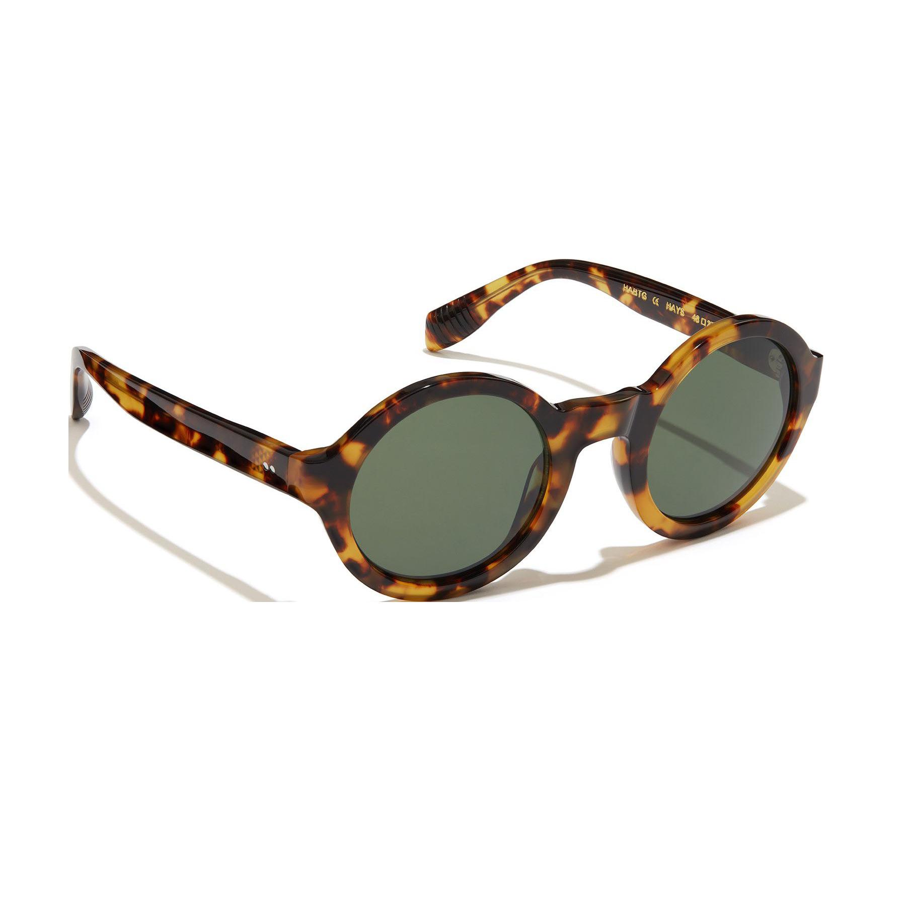 Kirk Originals Hays Bitter Tortoiseshell Sunglasses 45mm Front