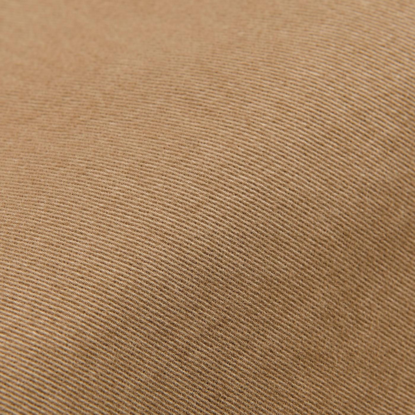 Berwich Beige Cotton Gabardine Stretch Chinos Fabric