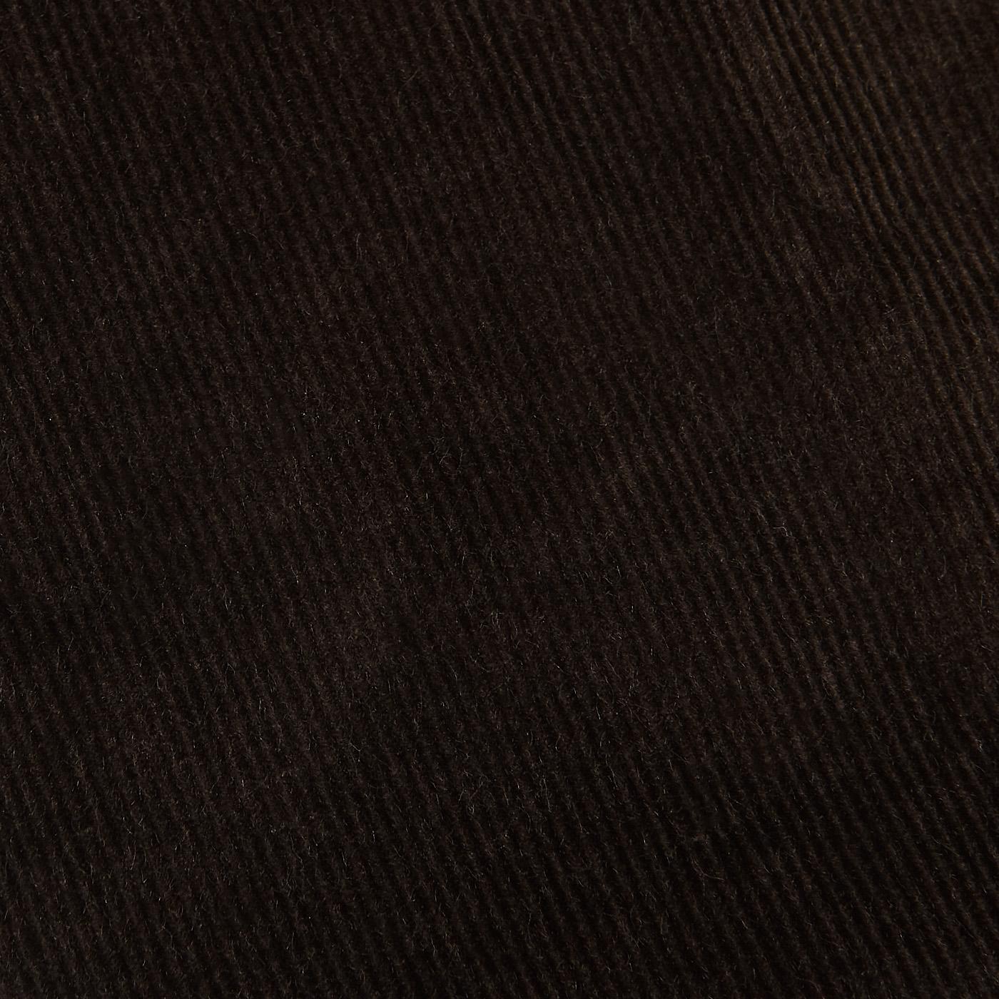 Hiltl Brown Cotton Corduroy Regular Fit Chinos Fabric