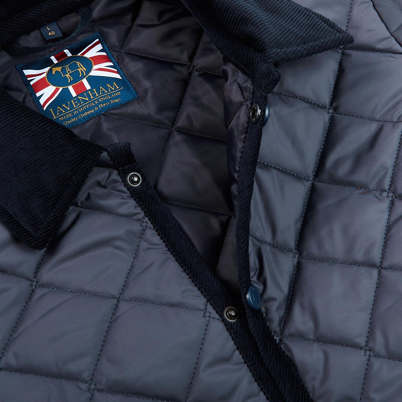 Lavenham Navy Blue Denham Technical Jacket Open